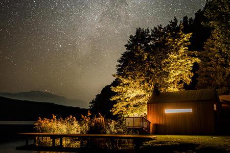 Biwak unter den Sternen. Rifugio sotto le stelle.