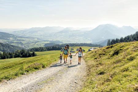 Wandern oberhalb von Schwarzenberg