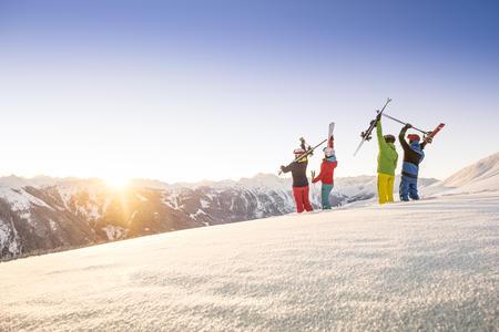 Die Wintersonne bejubeln