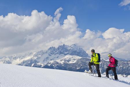 Winter- und Schneeschuhwandern in der Region St. Johann in Tirol