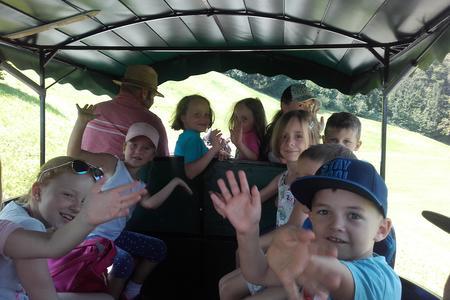 Kinderprogramm Wildschönau Kutschenfahrt