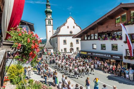Talfest Wildschönau Kirche Oberau