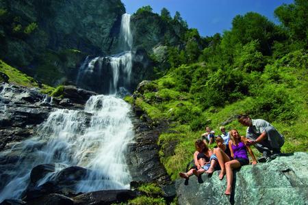 Jungfernsprung Wasserfall