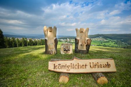 Königlich Wandern im Wanderdorf Fischbach