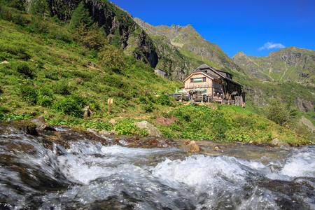 Gollinghütte im Steinriesental