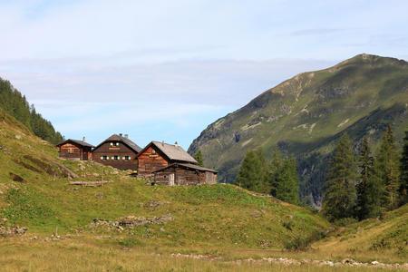Preintalerhütte und Waldhornalm