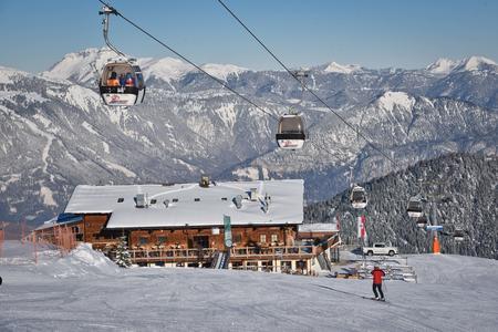 Gasthof Hornboden Alpbach Winter