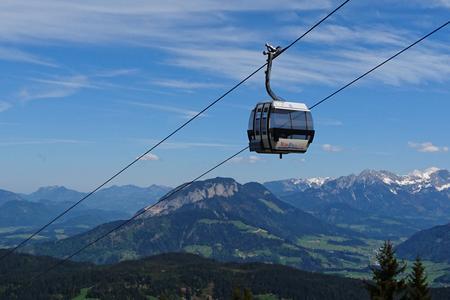 Markbachjoch Gondelbahn Bergbahn Wildschönau