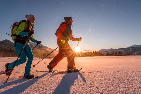 Schneeschuhwandern am Guggenberg