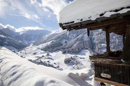 Oberer Höhenweg in Alpbach im Winter