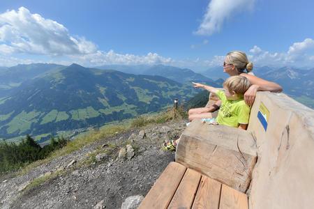 Blick vom Gratlspitz auf Alpbach