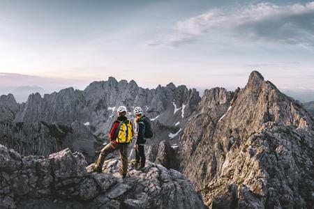 Gipfeltour am Wilden Kaiser