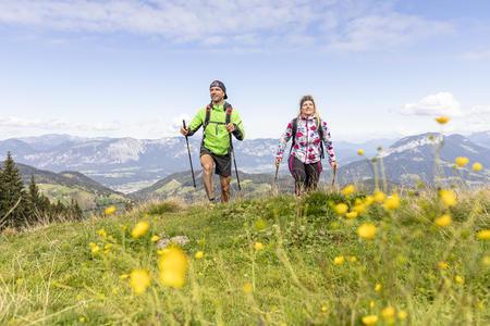 Wandern Markbachjoch Paar Sommer 2019