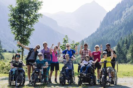 Wanderausflug mit Gästen von Freizeit PSO