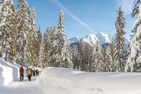 Weitwandern im Schnee