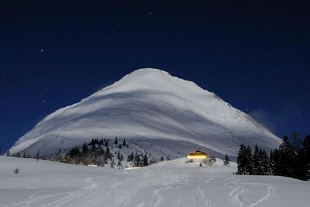 Rauthhütte Winter