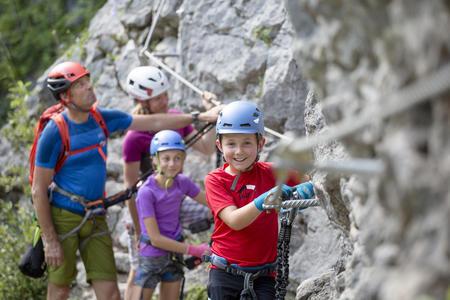 Familien Klettersteig