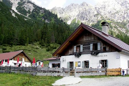 Eppzirler Alm im Karwendel
