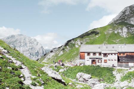 Lamsenjochhütte im Karwendel