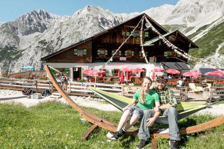 Pfeishütte im Karwendel
