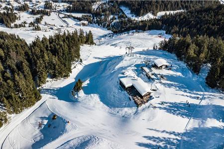 Katzenkopfhütteim Skigebiet Leutasch