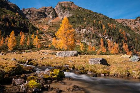 Herbst im Ötztal