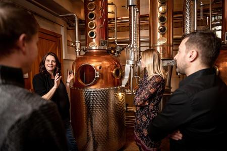 Whisky-Erlebniswelt, Destillerie Haider