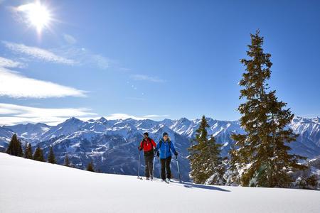Skitour mit Panoramablick auf die Hohe Tauern