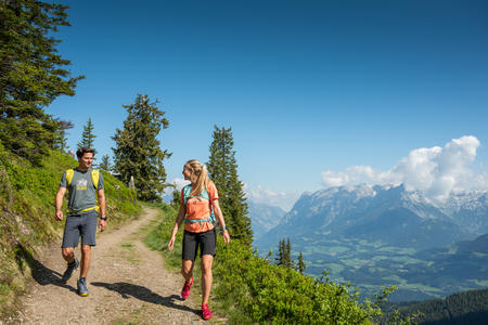 Wundervolle Wanderwege in der Salzburger Sportwelt