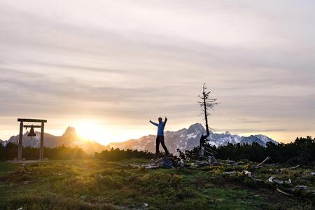 Sonnenaufgang am Gerzkopf