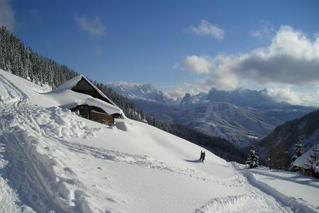 Rinnbergalm im Winter