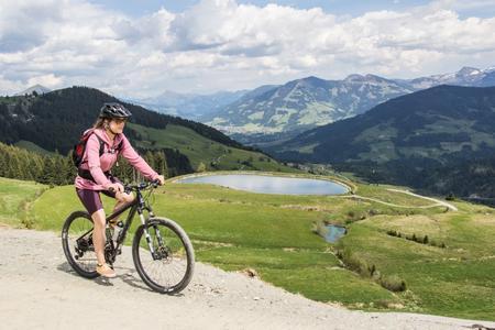 Holzalm Biken Bergsee Wildschönau