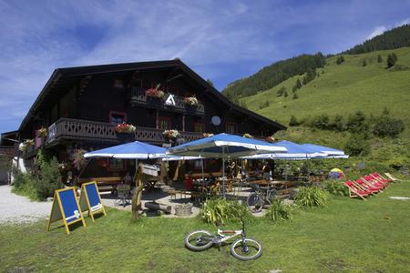 Spielberghaus im Sommer