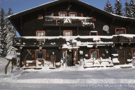 Spielberghaus im Winter