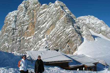 Seethalerhütte Dachsteinwarte Dachsteingletscher
