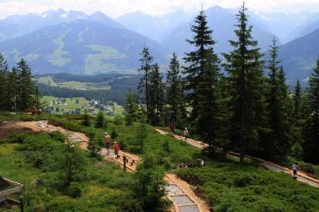 Barfußweg am Rittisberg